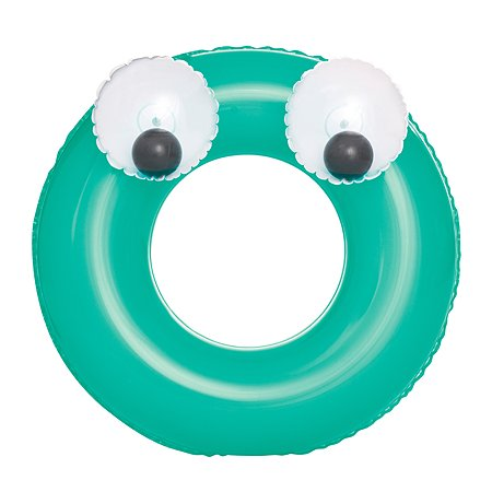Круг для плавания Bestway Глазастики Зеленый 36114