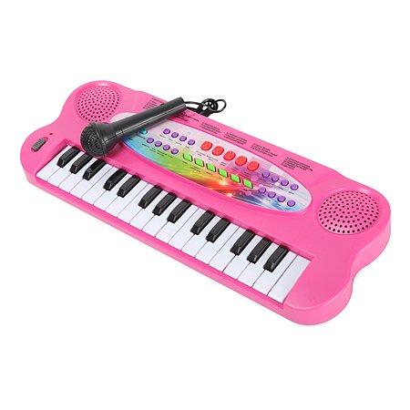 Синтезатор Attivio 32клавиши Розовый HS3211A