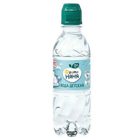 Вода ФрутоНяня артезианская питьевая негаз. 0,33 л с 0 месяцев