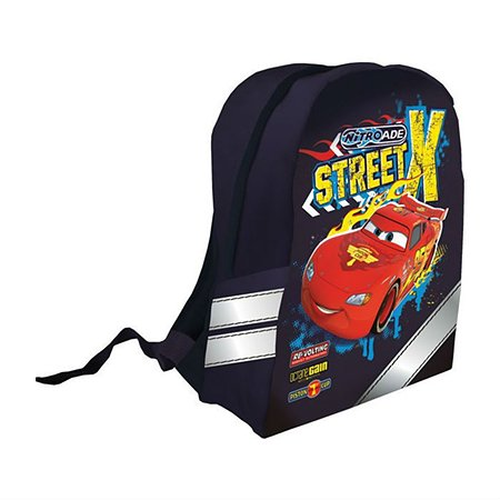 Рюкзак Kinderline Cars (черный)