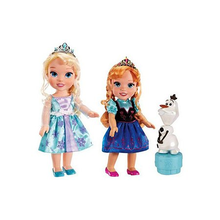 Набор Disney Холодное Сердце Олаф и 2 принцессы