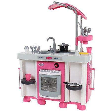 Набор Полесье Carmen 7 с посудомоечной машиной и варочной панелью (в пакете)