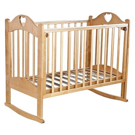 Кровать детская Красная Звезда (Можга) Любаша медовый
