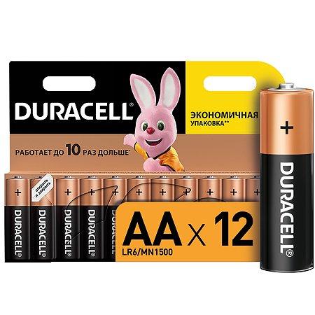 Батарейки Duracell Basic АА/LR6 12шт