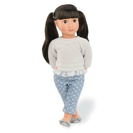 Кукла Our Generation Мэй Ли 46 см в модных джинсах