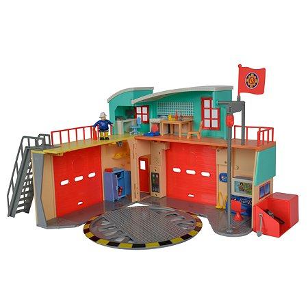 Пожарная станция Fireman Sam фигука  со световыми и звуковыми эффектами