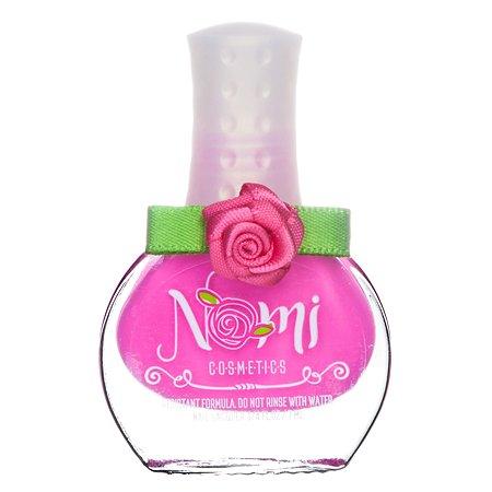 Лак для ногтей для девочек NOMI (№8 Розовый  неон) 7 мл