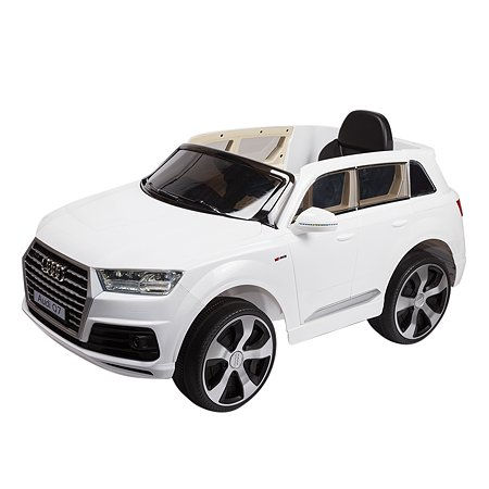 Электромобиль Kreiss Audi Q7 2X6V белый (свет/звук)