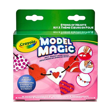 Набор волшебного пластилина Crayola Бусы из сердечек