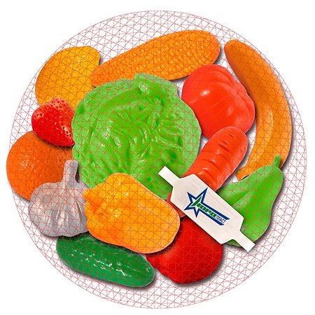 Фрукты и овощи Нордпласт в  сетке(13пр)