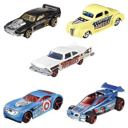 Машинки Hot Wheels Капитан Америка 3 в ассортименте