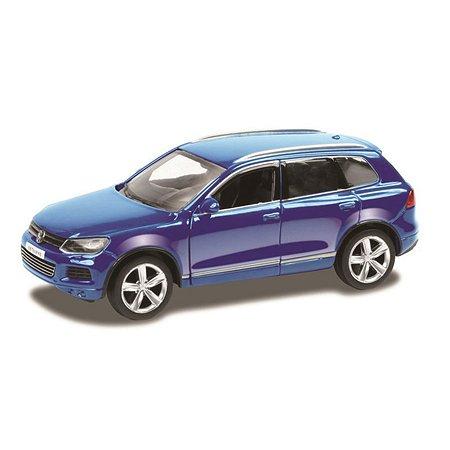 Машина Mobicaro 1:32 Volkswagen Touareg Синяя