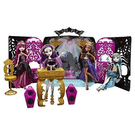 Игровой набор Monster High 13 Желаний. Монстростическая вечеринка + кукла