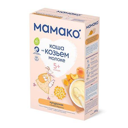 Каша Мамако кукурузная с тыквой и абрикосом на козьем молоке 200г с 5месяцев