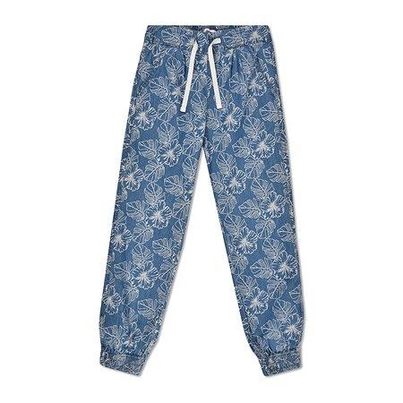 Брюки Futurino Fashion голубые