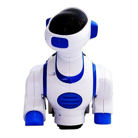 Игрушка HK Industries Щенок интерактивный Белый-Голубой