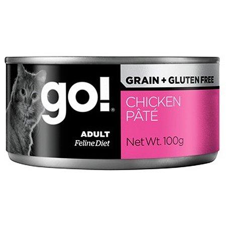 Корм влажный для кошек GO 100г с курицей консервированный