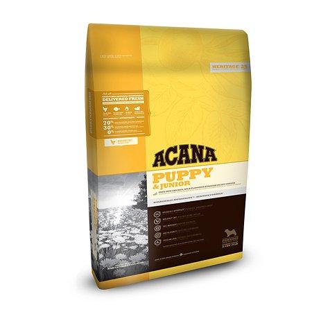 Корм для щенков ACANA Heritage 11.4кг