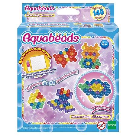 Мини-набор Aquabeads Колечки 31346
