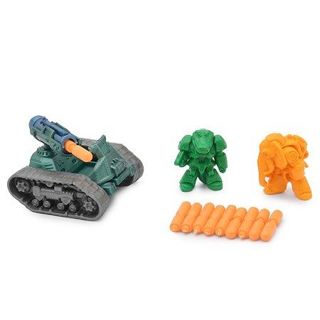 Набор игровой Русский стиль Zveronics №3 фигурки и танк