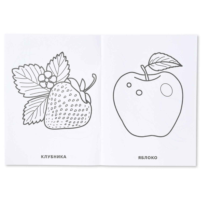 Супер-раскраска УМка Фрукты и овощи 64 картинки - купить в ...