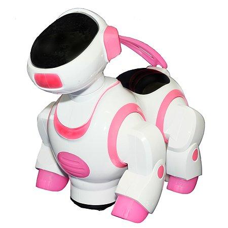 Игрушка HK Industries Щенок интерактивный Белый-Розовый