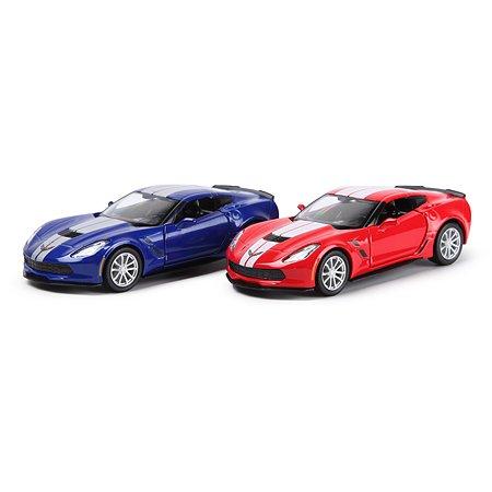 Машинка Mobicaro 1:32 Chevrolet Corvette Grand Sport Special Edition в ассортименте 544039C