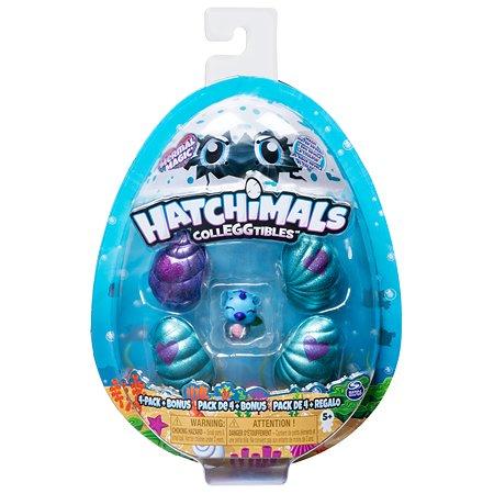 Набор Hatchimals S5 в яйце с бонусом Подводное волшебство 4шт в непрозрачной упаковке (Сюрприз) 6045522