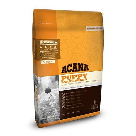 Корм для щенков ACANA Heritage крупных пород 11.4кг