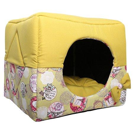 Кубик для кошек и собак LIONMANUFACTORY Трансформер Желтый