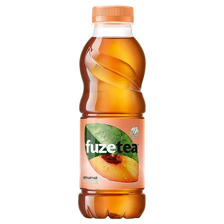 Чай черный FuzeTea персик 0.5л 1750603
