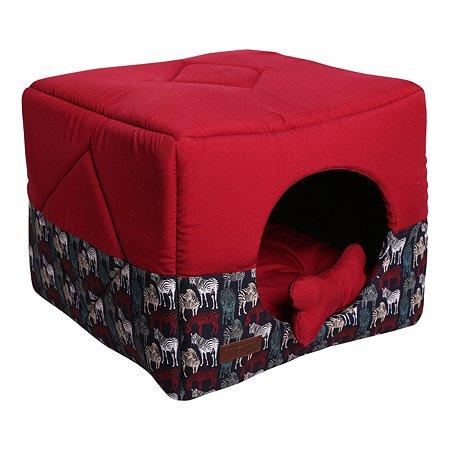 Кубик для кошек и собак LIONMANUFACTORY Трансформер Красный