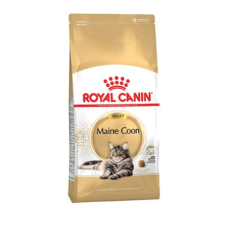 Корм сухой для кошек ROYAL CANIN Maine Coon 2кг породы мейн-кун