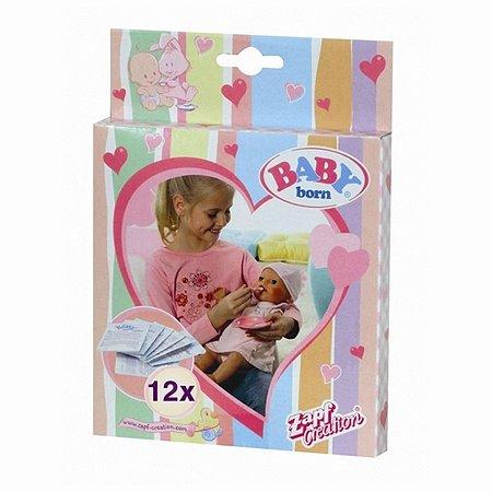 Питание для куклы Zapf Creation Baby born 12 пакетиков 779-170