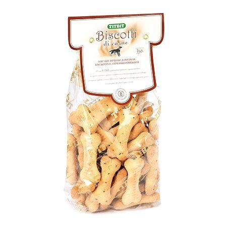 Лакомство для собак TITBIT Бискотти Печенье с печенью говяжьей 350 г