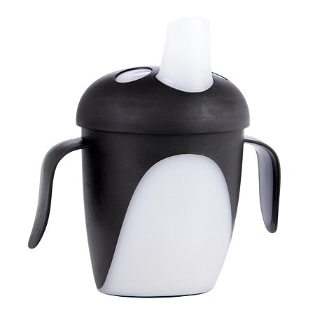 Чашка Canpol Babies Penguins 240мл с 9месяцев Черный