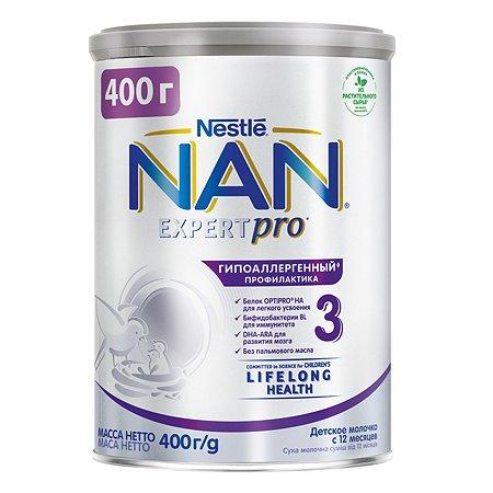 Смесь NAN 3 гипоаллергенный 400 г с 12 мес