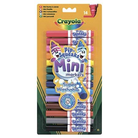 Мини-маркеры Crayola смываемые  14 шт
