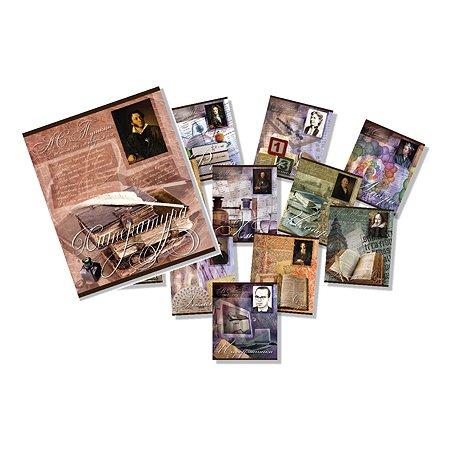 Тетради предметные Мировые тетради набор 10 тетрадей 48л