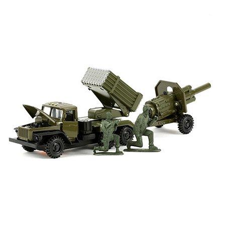 Машина Технопарк Урал Град с пушкой