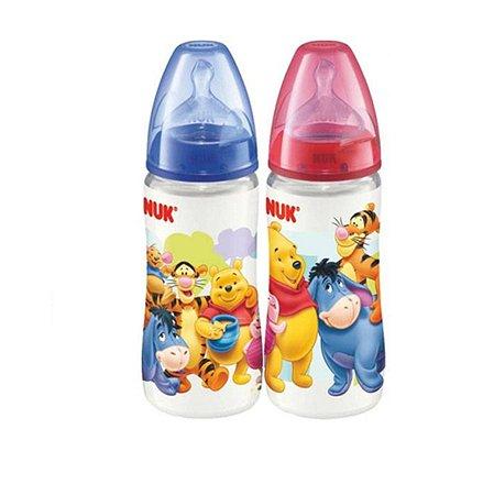Бутылочка Nuk пластиковая Дисней First Choice 300 мл в ассортименте