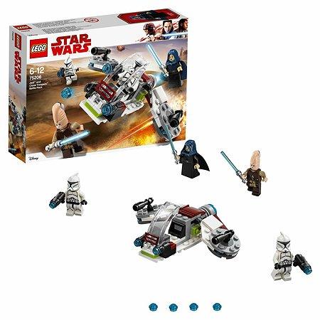 Конструктор LEGO Star Wars Боевой набор джедаев и клонов-пехотинцев (75206)