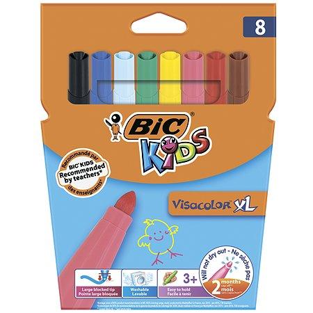 Фломастеры BIC Визаколор Xl 8цветов 8290061