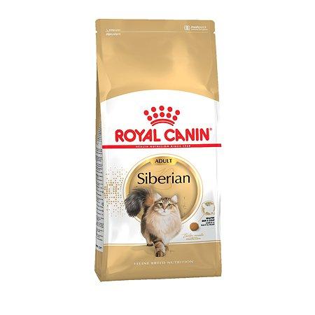 Корм сухой для кошек ROYAL CANIN Siberian 2кг сибирских пород