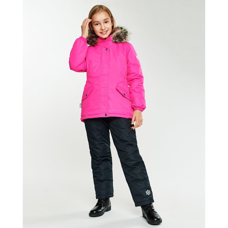 Куртка Futurino Cool ярко-розовая