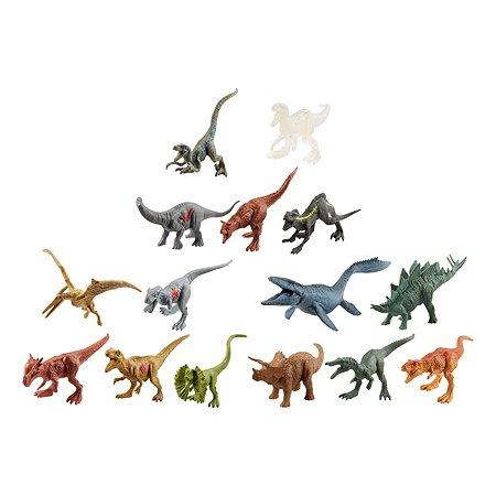 Набор Jurassic World 15 мини-динозавров