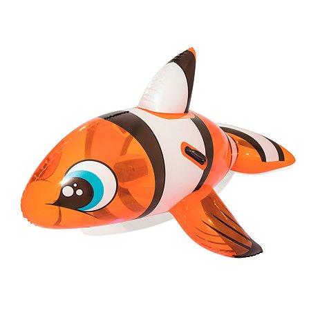 Игрушка надувная Bestway для катания верхом Рыба-клоун 41088
