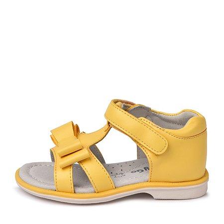 Сандалии BabyGo жёлтые