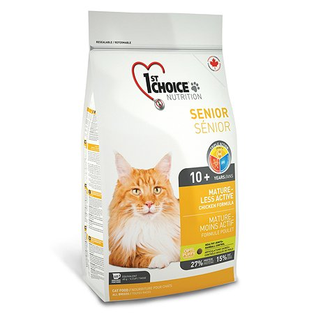 Корм для кошек 1st Choice Mature or Less Active цыпленок 2.72кг