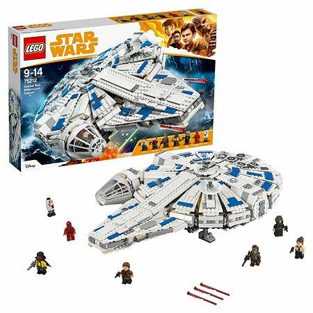 Конструктор LEGO Star Wars Сокол Тысячелетия на Дуге Кесселя (75212)
